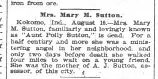 mary polly sutton - Newspapers.com