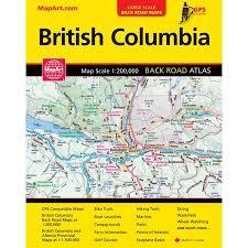 British Columbia Backroad Atlas