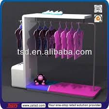 Free Standing Retail Display Units TSDW100 Free Standing Wooden Baby Clothes Display Standclothes 49