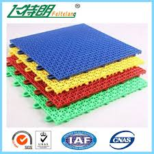 outdoor indoor polypropylene rubber gym flooring tiles interlocking customized