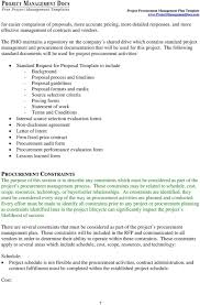 Despite not always being legally enforceable in a court of law. Procurement Management Plan Project Name Pdf Free Download