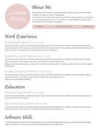 Blush Resume Template Instant Download Modern Resume Template Feminine Resume Template Professional Resume Creative Resume