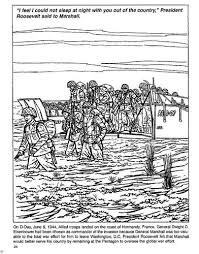 Ww2 Coloring Page Beaches Of Normandy On D Day World War Ii For