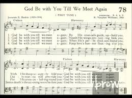 God Be With You Till We Meet Again - gabaroo muses