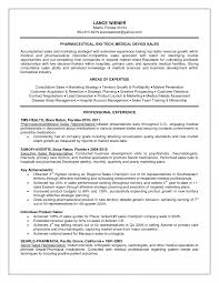 Charming Resume Objective Examples Sales Representative Images