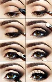perfectly blended eye makeup for green eyes