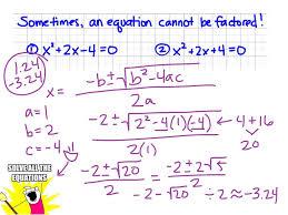 sol review 3 factoring and solving quadratic equations math algebra solving equations quadratic equations quadratic formula factoring