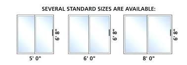 sliding glass door height sliding glass door sizes sliding glass door widths sliding glass door height