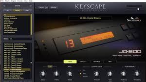 KEYSCAPE JD-800 - Crystal Rhodes - YouTube