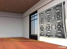 rug wall hangers how to hang a rug on the wall hang a rug on a