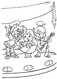 Alvin Kleurplaat Coloring Alvin 2 Disegni Per Bambini Da Colorare