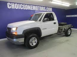 2005 Used Chevrolet Silverado 2500HD 6.0 AUTO TRANS CAB AND ...