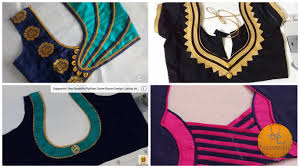 Designer Blouse Making Step By Step Download Easy Blouse One Side Neck Design Cutting And Stitching