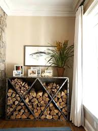 metal wood holder for fireplace log holders