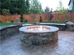 stone fire pit ideas. Fire Pit Designs Stone Ideas Impressive . D
