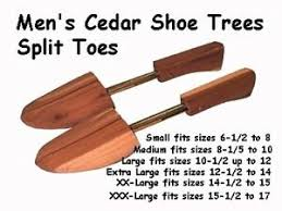 Florsheim Shoe Tree Size Chart Details About 11 99pr 5prs Mens Medium Cedar Shoe Tree Stretches Shoes Back To Orignal Shape