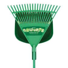 garden rake. Bentley Garden Tidy Set - Rake, Broom And Shovel Pan Rake