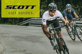 Scott Size Guide Tredz Bikes
