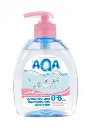 <b>AQA baby Средство для</b> подмывания девочек, 300 мл 76510440 ...