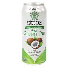 Steaz Lightly Sweetened Green Tea Buy Steaz Lightly Sweetened Iced Green Tea With Coconut