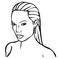Realistic Coloring Pages Of People Famous Colouring Page Ideas