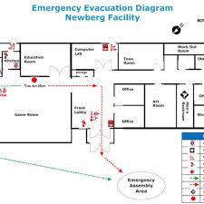 emergency exit floor plan onvacations wallpaper