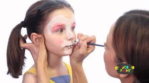 Small Picture Bunny Face Paint Tutorial YouTube