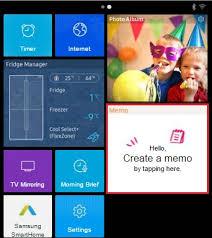 How Do I Create A Memo On The Samsung Family Hub Samsung
