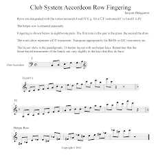 Accordion Keys Chart Musicians Guide To The Club System Button Accordion Layout