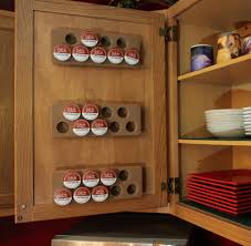Coffee Cup Rack Under Cabinet New K Cup Storage System Coffee Accessories