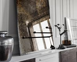 antiqued mirror glass cut to size