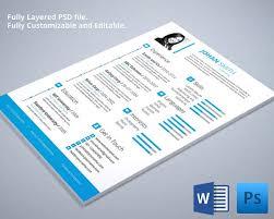 customizable engineer resume cv template word resumes templates