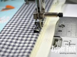 Zipper Foot On Sewing Machine