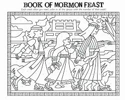 Small Picture Book Of Mormon Coloring Pages Coloring Home