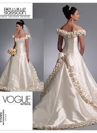 Vogue Bridal Patterns Custom Design