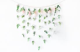 diy garden fl bridal shower backdrop