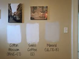 The Best Behr White Paint Colors, Neutral Paint Colors, Cotton Blossom,  Swiss Coffee, Mineral