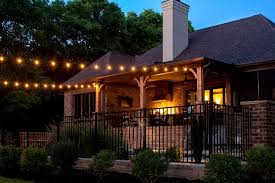 Outdoor lighting ideas for patios Lanterns String Lights Are Perfect For Screened In Porches Outdoor Kitchens Restaurant Patio Light Up Nashville Custom String Lights Light Up Nashville Outdoor String Lighting