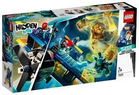 <b>Конструктор LEGO Hidden Side</b> 70429 Трюковый самолёт Эль ...