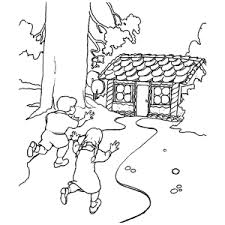 Leuk Voor Kids Hans En Grietje Kleurplaten