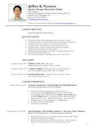 Example Of Resume Format Philippines Proyectoportal Com