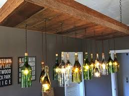 make a wine bottle chandelier interesting wine bottle chandeliers with wine bottle chandelier lighting home furnishings