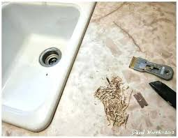 sink caulking caulking kitchen sink how