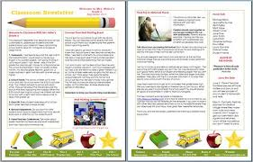 School Newsletter Templates Free Download Into Anysearch Co
