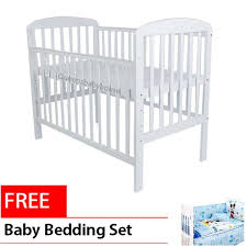 royalcot r8309 white large baby cot bed wooden free bedding set blue mickey mouse size loading zoom