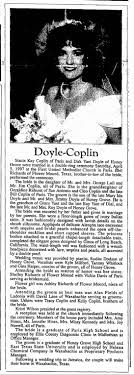 Doyle-Coplin marriage - Newspapers.com