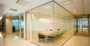 internal glass partitions office and frameless glass doors