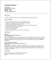 Resume Sample Recruiter Resume Sample Free Recruiter Resume