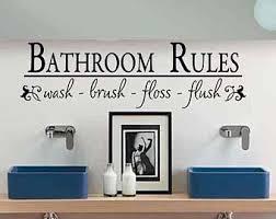 bathroom decor bathroom wall decal bathroom rules wash brush floss flush bath room wall sticker on wall art stickers bathroom with bathroom wall decal bathroom rules wash brush floss flush bath