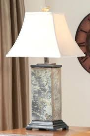slate table lamp home 3 piece lamp set with natural slate finish pertaining to remodel 4 slate table lamp